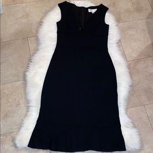 St. John Evening Knit Sheath Dress